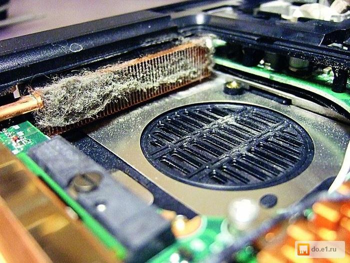 Чистим ноутбук от пыли своими руками
